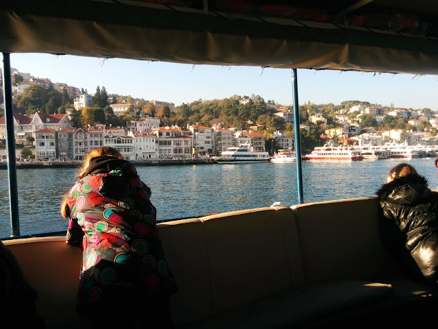 Taking a Istnabul local ferry