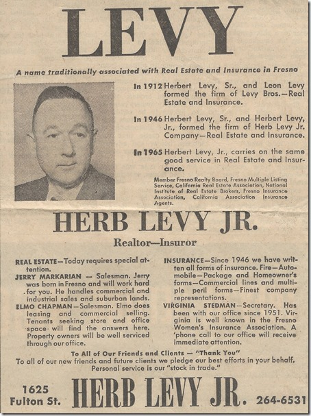 Herb Levy