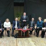 Šarūnas Birutis susitiko su Zarasų kultūros centro darbuotojais