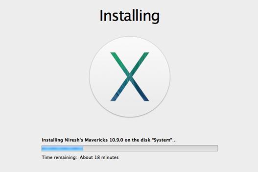 Tunggu proses instalasi hingga selesai
