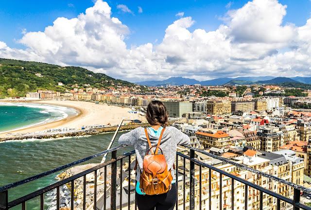 Desde la cima de San Sebastián