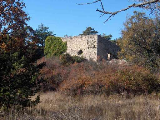 Ferme en ruines près de laquelle nous avons pique-niqué