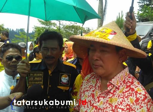 Tommy Soeharto di Sukabumi Janjikan Program Eko Pesantren