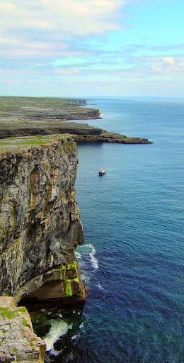 Dun Aengus, Inismore, Aran Islands. From Driving Ireland's Wild Atlantic Way