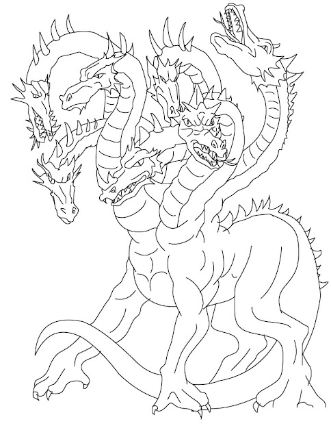 Dragon Tales Coloring Pages