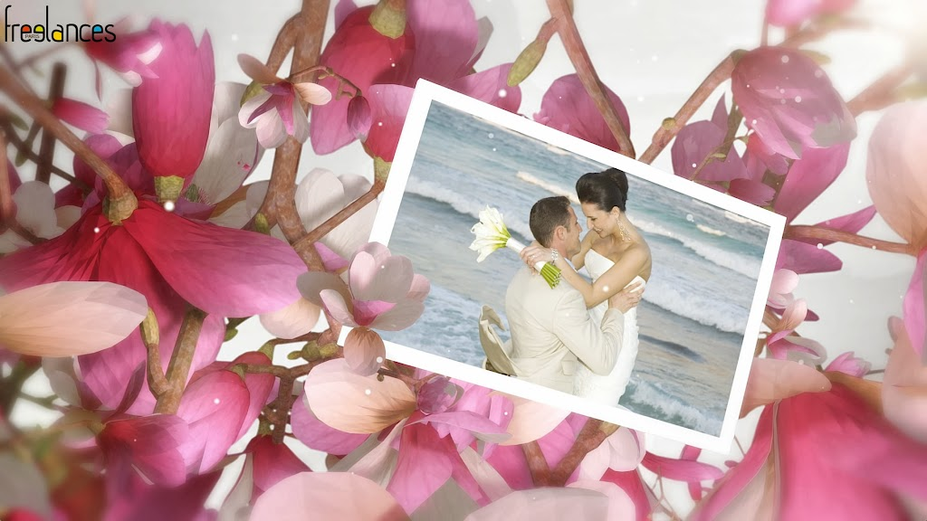 diaporama vidéo mariage magniolias photo 01