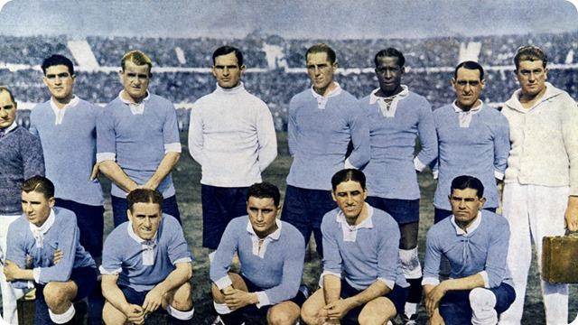 A 22 días del inicio del Mundial Rusia 2018: Recuerdos mundialistas, Uruguay se ciñe la primera corona mundial en 1030.