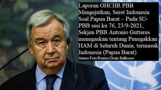SekJend PBB tentang Pelanggan Jam Asasi Manusia di West Papua