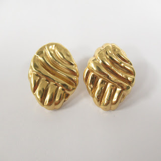 14K Gold Clip Earrings 2