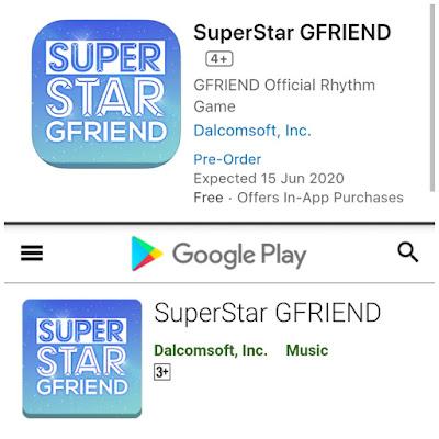 pre-register superstar gfriend