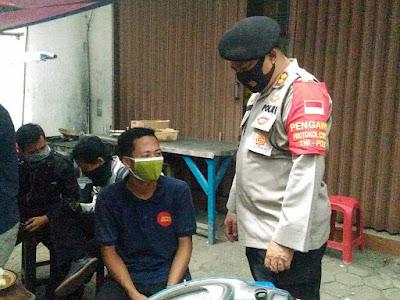 Polres Metro Bekasi Ajak Warga Kabupaten Bekasi Untuk Selalu Gunakan Masker