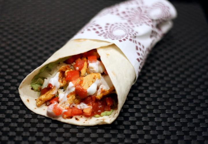 Burritos med kylling og koriander-lime ris