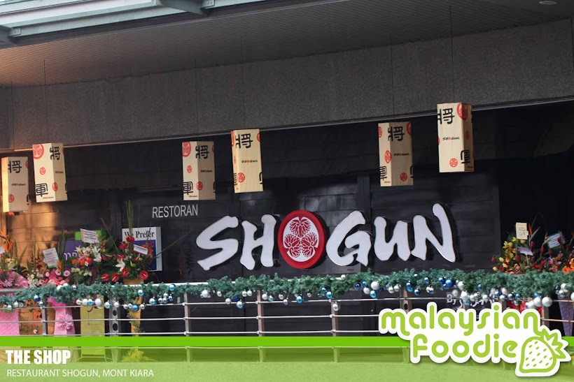 SHOGUN JAPANESE BUFFET RESTAURANT, MONT KIARA (INVITED REVIEW)