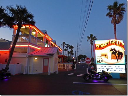 Sunset Grill, St. Augustine Beach