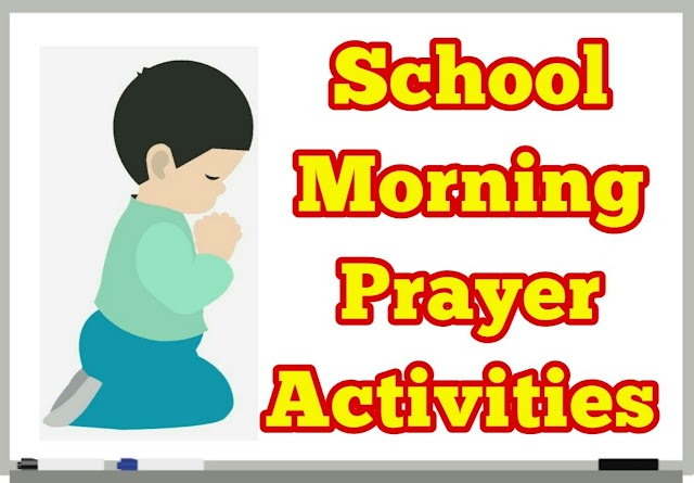 School Morning Prayer Activities 20.02.2020