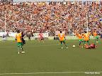 FC Renaissance a battu Dragons (1-1/2-0, t.a.b) en finale du tour préliminaire de la Coupe du Congo de football. Radio Okapi/Ph. Nana Mbala