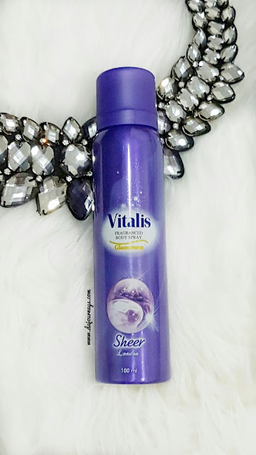 Vitalis Fragranced Body Spray Glamorous