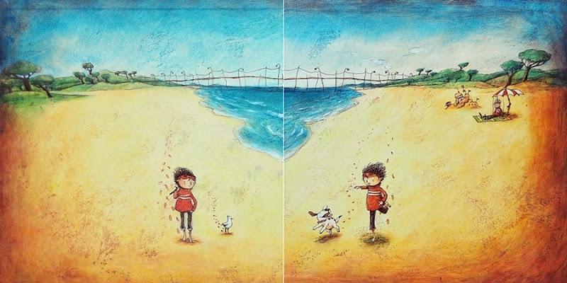 소년과 장난감