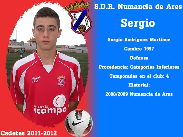 ADR Numancia de Ares. Cadetes 2011-2012. SERGIO.