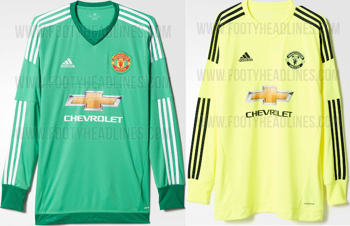 premium selection 8884a 2f16d New Adidas Manchester United 2015-16 Kits Officially Released