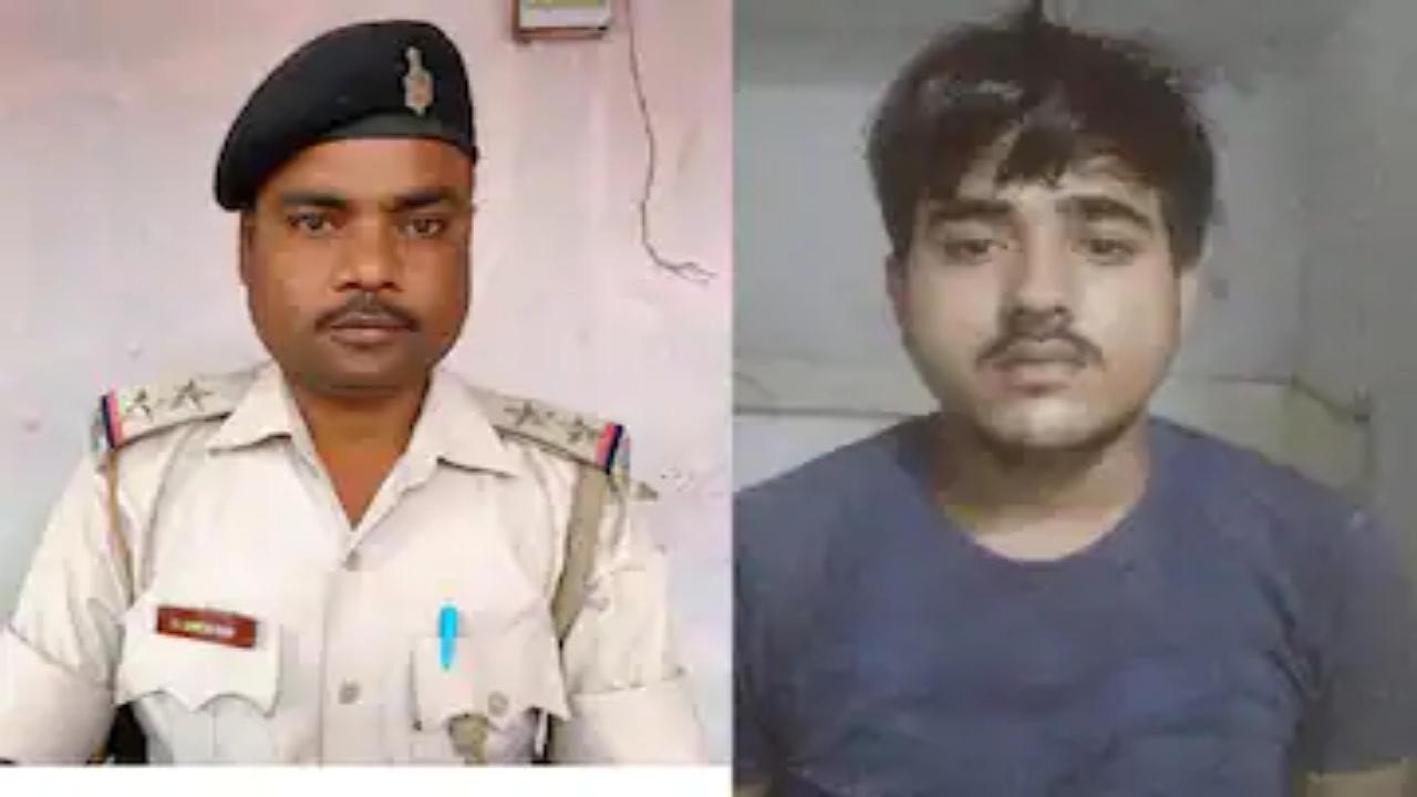 दारोगा दिनेश राम हत्याकांड का मुख्य आरोपी टुकटुक गुजरात से गिरफ्तार