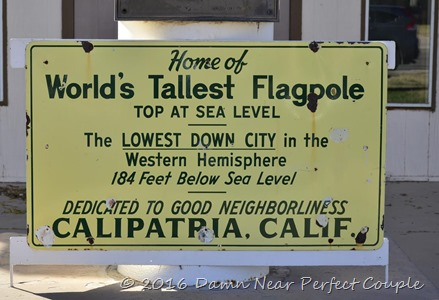 Calipatria Sign