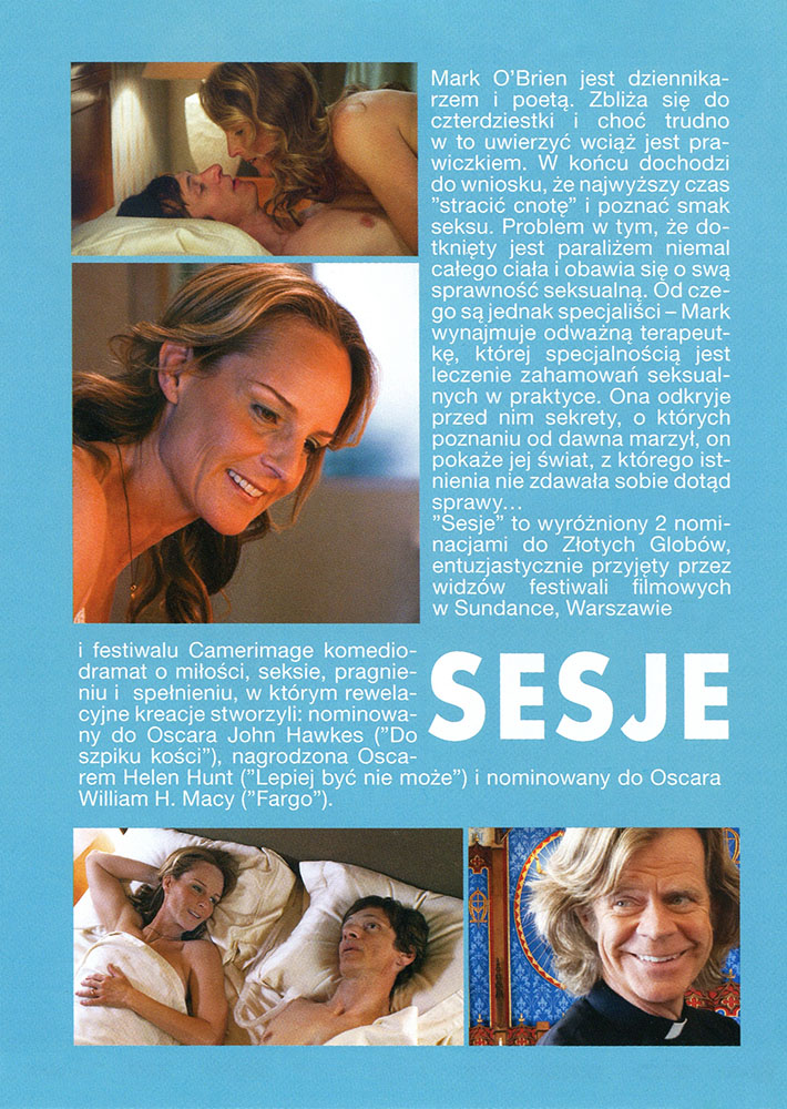 Ulotka filmu 'Sesje (tył)'