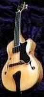 Pendennis Mini Jazz semi-acoustic Archtop Ukulele