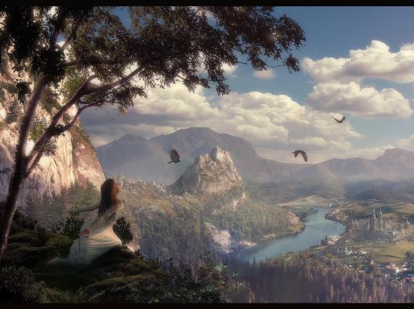 Magick Landscape Of Deep 3, Magical Landscapes 3