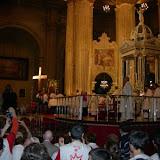 Recogida de la Cruz de la JMJ2011 en Málaga