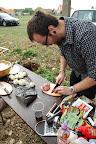 Príprava gulášu