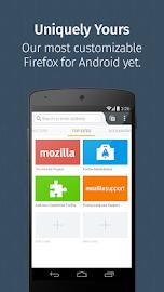 Firefox Beta — Web Browser Screenshot 1