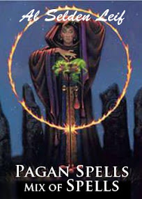 Cover of Al Selden Leif's Book Pagan Spells Mix of Spells 1