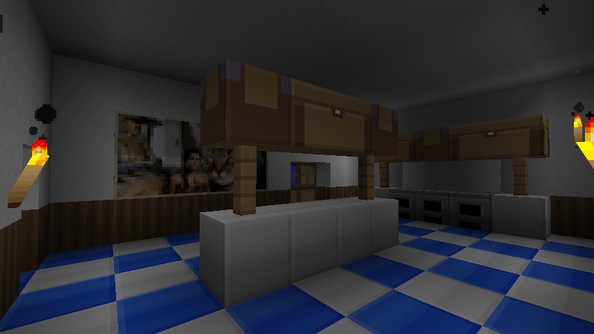 Minecraft ideas kitchen jedrick for Kitchen ideas minecraft