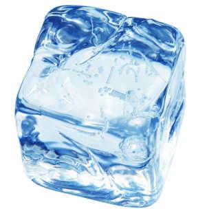 Вымораживание - лед