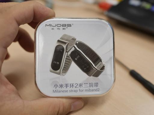 【數位3C】米布斯小米手環2米蘭腕帶 Mijobs Milanese strap for miband2@輕巧x時尚x質感~穿戴裝置輕鬆升級! 3C/資訊/通訊/網路 健康 新聞與政治 硬體 開箱