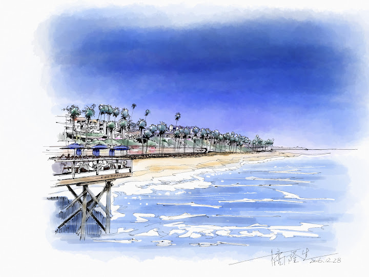 California  made with Sketches