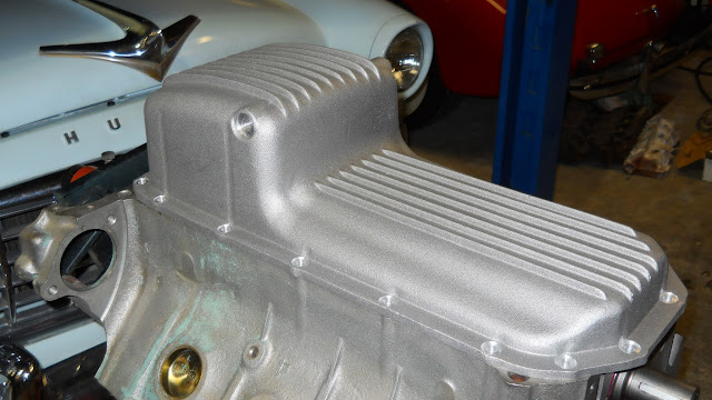 As Cast aluminum rear sump oil pans for the 57-66 nailheads 395.00