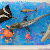 Ocean Animals, Learning and Sensory Tub