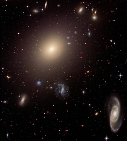 Galaxy cluster Abell S0740