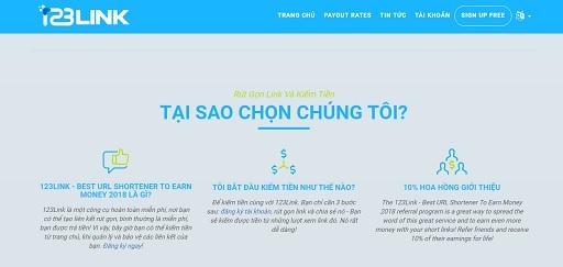 Kiếm tiền online với link rút gọn