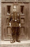 A German infantryman from Posen district regiment
