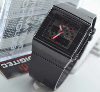 jam tangan Digitec original  3017T black rubber