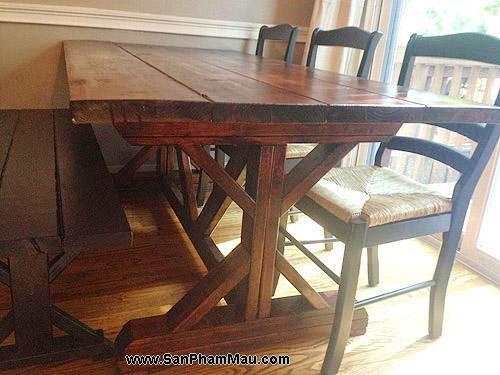 Thi công nội thất đồ gỗ: Cải tạo khoảng trống thành phòng ăn với giá 8 triệu đồng-7