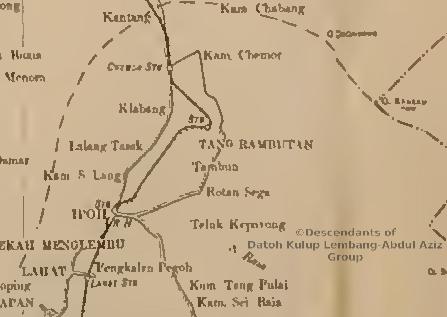 Map of Perak 1901