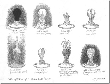 Foscarini-light-bulbs-1st-sketches