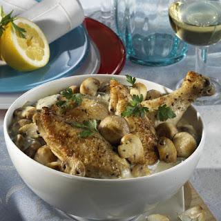 Chicken in Riesling