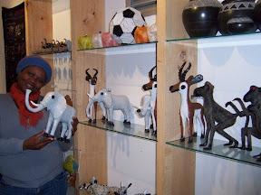 Shop for beadwork, ceramics, sculpture, fabric & jewelry