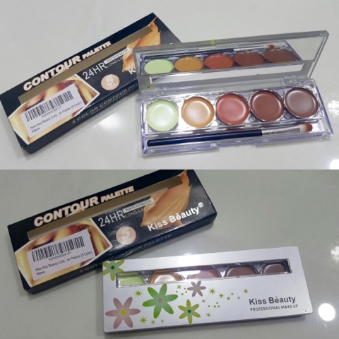 New Kiss Beauty Contour Concealer Highlighter Palette (5 Color)