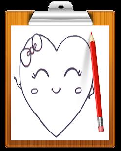 How To Draw Love Hearts التطبيقات على Google Play
